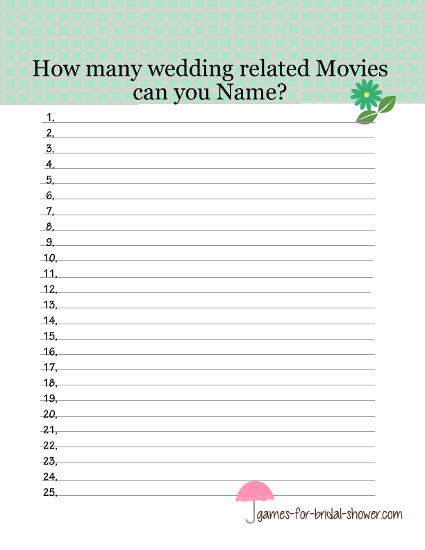 photograph about Guess the Disney Movie Song Printable titled Free of charge Printable Marriage Films Reputation Activity