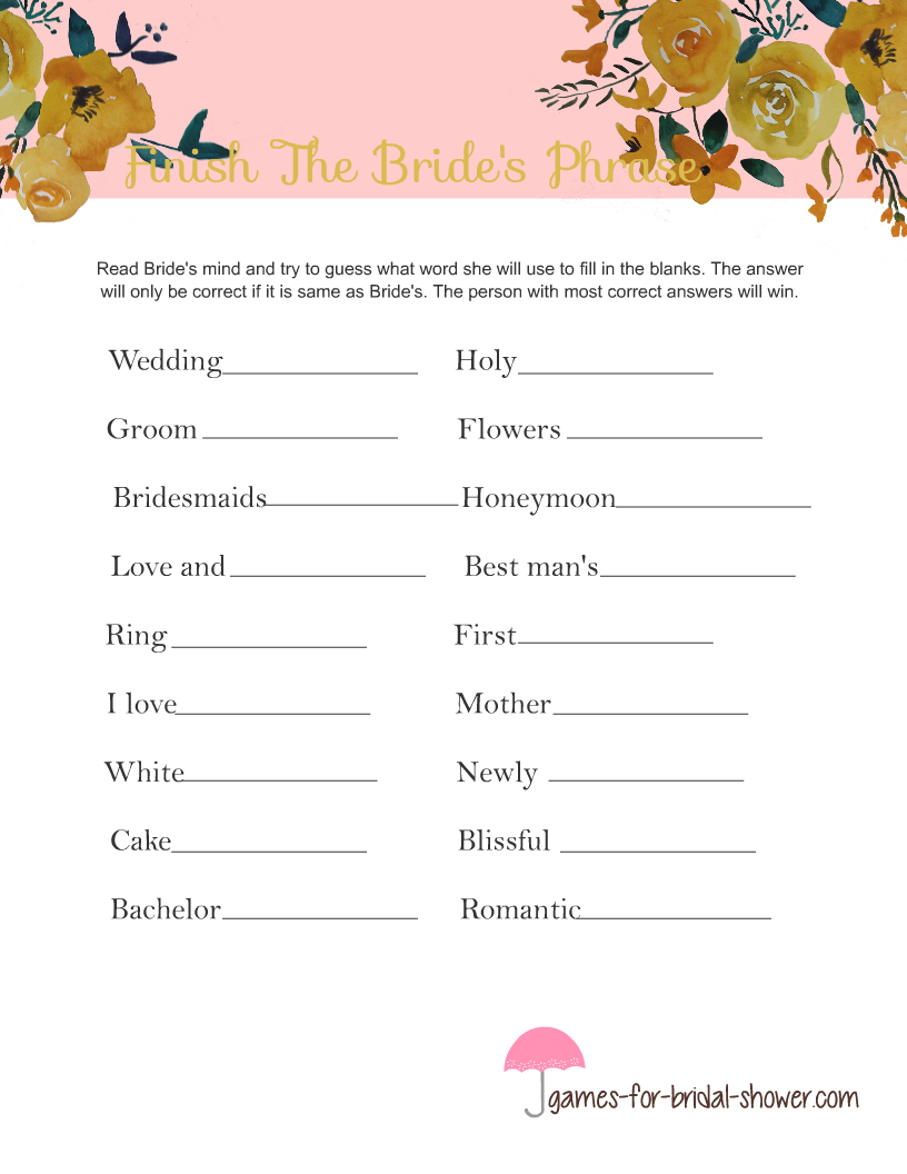 Letter Word For Grooms