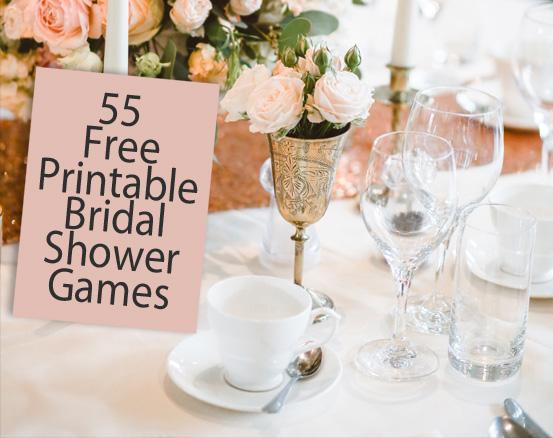 30 Free Printable Bridal Shower Games